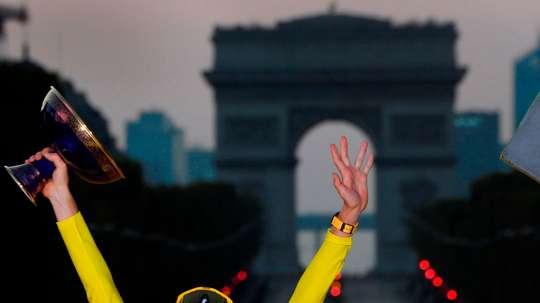 El ganador del Tour de Francia, Tadej Pogacar. EFE/EPA/STEPHANE MANTEY