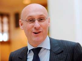 El presidente de la Federación Francesa de Rugby (FFR), Bernard Laporte. EFE/Caroline Blumberg/Archivo