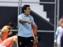 Guaraní, ambicioso para su cita de Libertadores frente a Palmeiras. EFE/Nathalia Aguilar/Archivo