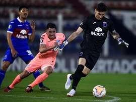 Una desconexión priva a Gorosito de su ansiada victoria. EFE/ Marcelo Endelli