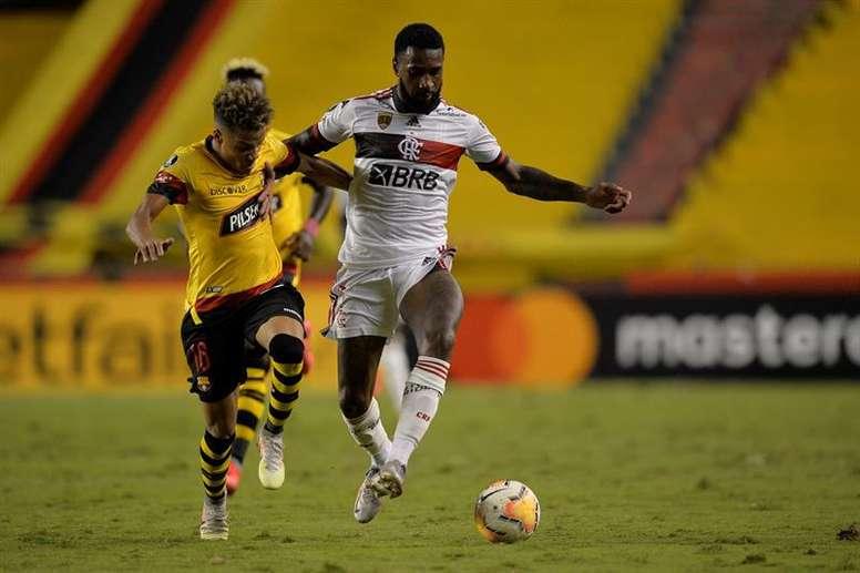 Flamengo visita a Palmeiras en la duodécima jornada. EFE
