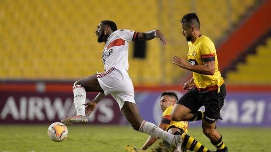 Flamengo recently travelled to Ecuador. EFE