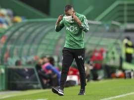 Hasta ocho jugadores tienen el virus en el Sporting de Portugal. AFP