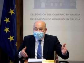 El delegado del Gobierno habló. EFE