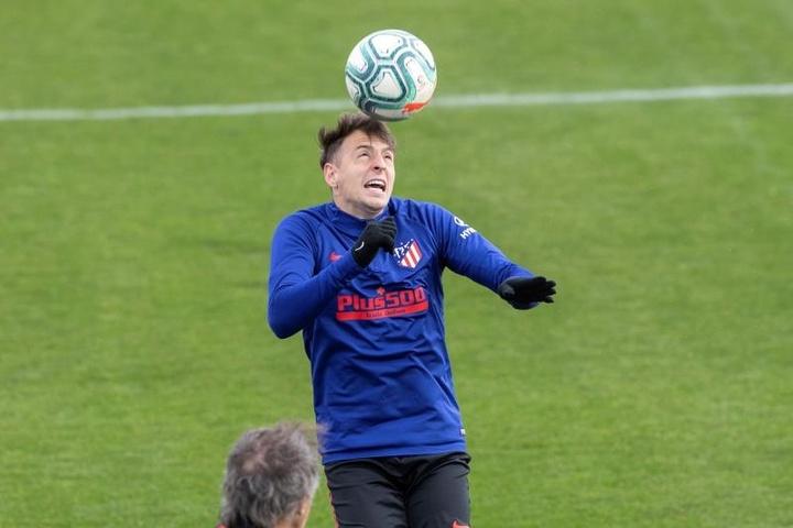 Arias tem um pé fora do Atlético.EFE