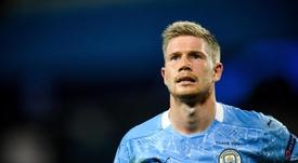 De Bruyne cree que con Messi o sin él, el City tiene plantilla para ganar lo que se proponga. EFE