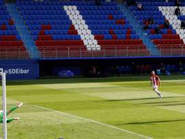 Al Athletic se le da bien Ipurua. EFE
