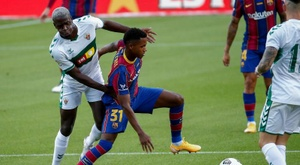 Barca are not looking to part ways with the young star. EFE