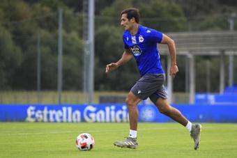 Celso Borges era el único futbolista del Dépor que permanecía en el ERE. EFE