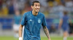 Di María no entiende por qué no lo llaman de Argentina. EFE