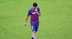Martín Lasarte criticó las formas del Barça con Luis Suárez. EFE