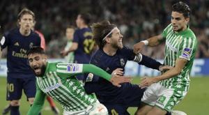 Bartra mécontent après Betis - Real. EFE