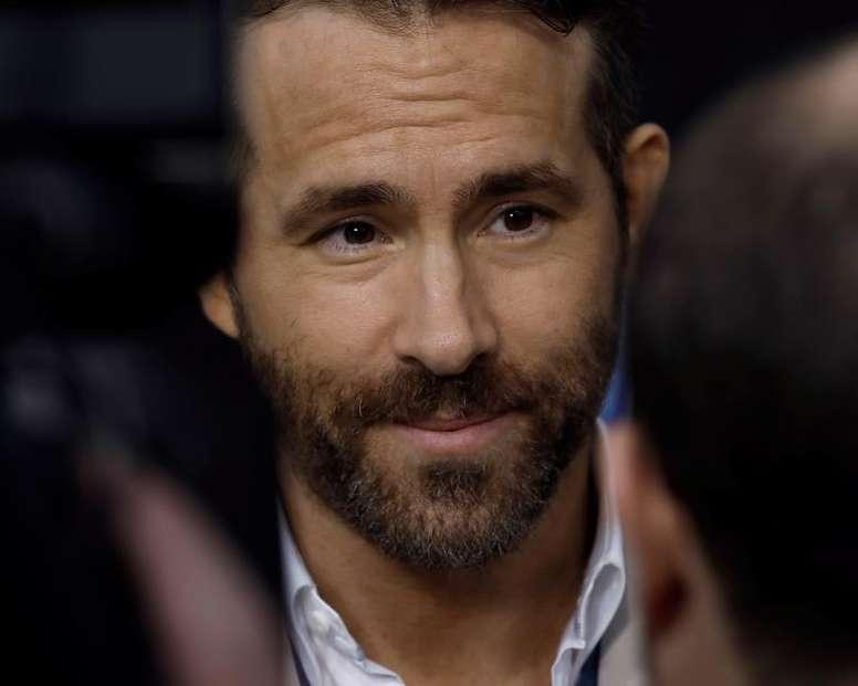 Ryan Reynolds quiere invertir en el Wrexham. EFE