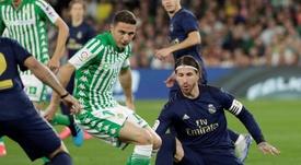 Les compos probables du match de Liga entre le Betis et le Real Madrid. EFE