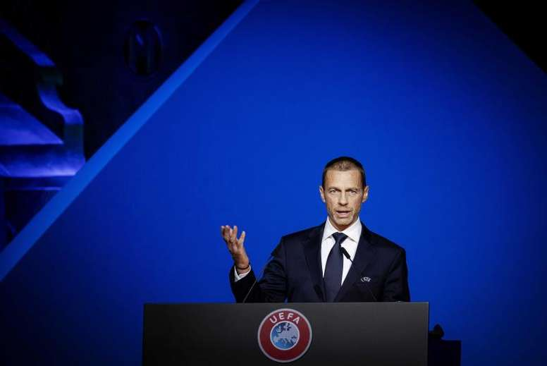La UEFA pidió responsabilidad. EFE