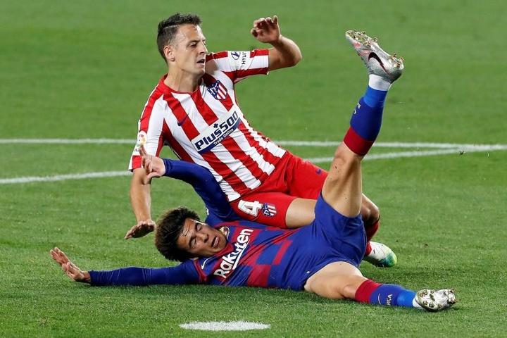 L'Atlético Madrid ne sait pas quoi faire d'Arias. EFE