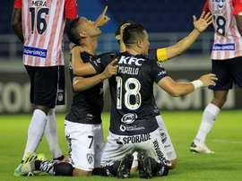 Otro lío en la Libertadores: un jugador de IdV dio positivo. EFE/Ricardo Maldonado Rozo