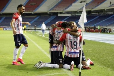 Solo un clasificado y tres eliminados en otra jornada de Libertadores. EFE /Ricardo Maldonado Rozo