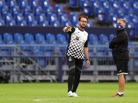 El Getafe se enfrenta al Betis en la cuarta jornada. EFE/EPA