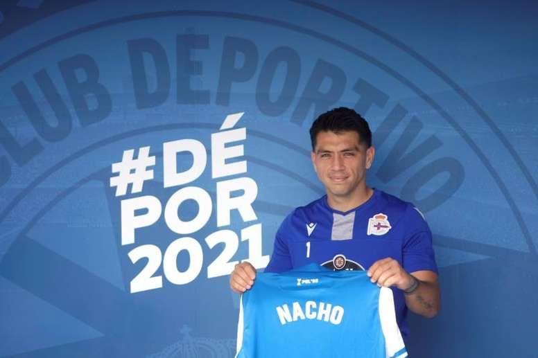 Nacho González quiere conseguir el ascenso con el Dépor. EFE