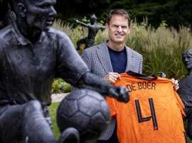 De Boer cogió las riendas de la Selección de los Países Bajos. EFE