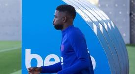 Samuel Umtiti could make his return very soon. EFE