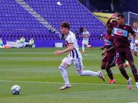 El Valladolid no ha ganado en sus dos primeros partidos. EFE