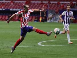 Héctor Herrera, entre las posibles bajas del Atleti. EFE