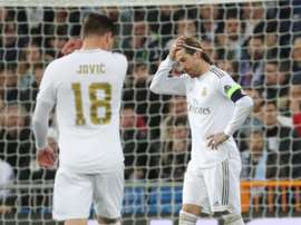Sergio Ramos is unlikely to star in the first game of the Champions League. EFE