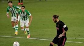 Ramos es uno de los centrales más goleadores del mundo. EFE