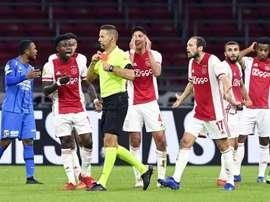 El Ajax venció. EFE