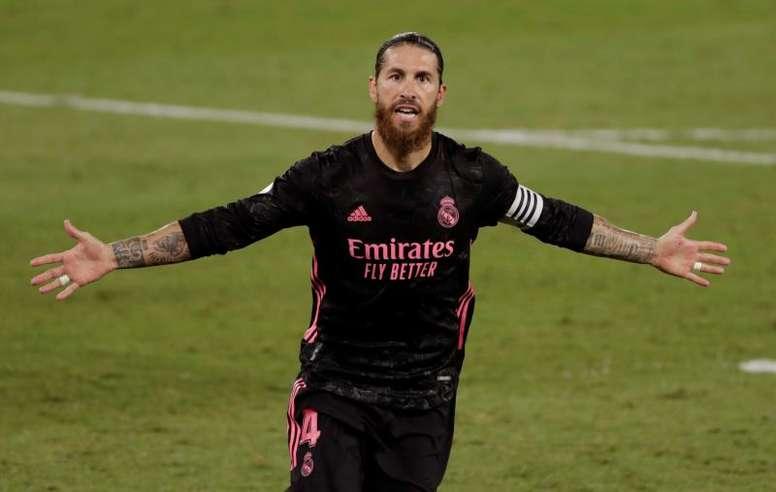 Ramos ha jugado 493 partidos como titular en Liga. EFE