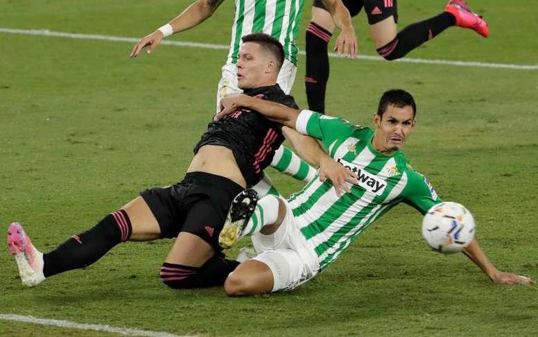 Jovic ganhou a confiança do Real Madrid. EFE/Julio Muñoz