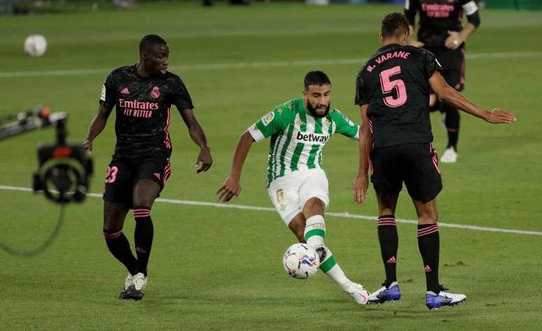 El Milan le tiene echado el ojo a Fekir. EFE/Archivo