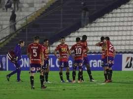 Unión Española perdió 0-2 frente a O'Higgins. EFE