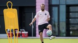 Federico e Gonzalo estão juntos no time de David Beckham. EFE/Inter Miami CF/MLS