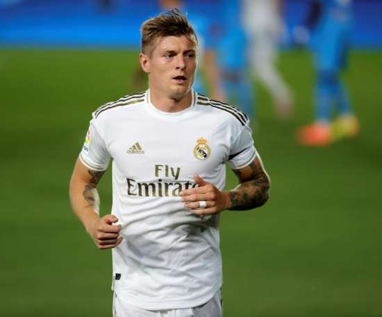 Toni Kroos is in Real Madrid's squad to face Cadiz. EFE