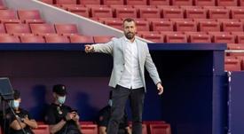 Diego reconoció el buen despliegue defensivo del PAOK. EFE