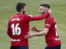 Osasuna se enfrenta al Celta en el próximo partido de Liga. EFE