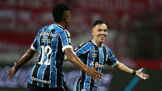 Grêmio tem 12 jogos de invencibilidade. EFE/Diego Vara