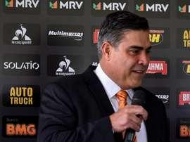 Sette Câmara aseguró que exigirá el descenso disciplinario de Flamengo. EFE