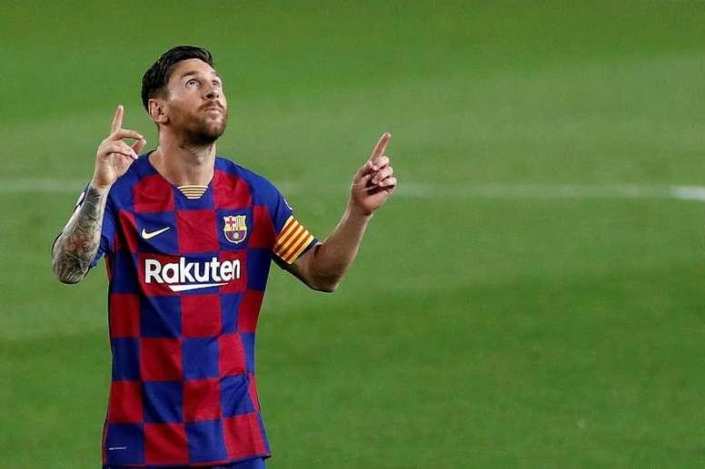 Koeman da por perdido a Messi. EFE