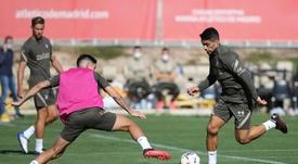 La SD Huesca y el Atlético se verán las caras en El Alcoraz. EFE/ATLETICODEMADRID.COM