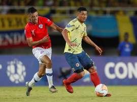 Edwin Herrera jugará en la revelación de Portugal. EFE