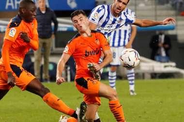 Valence l'emporte à la Real Sociedad. EFE