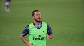 Hazard regresa a la enfermería del Madrid. EFE
