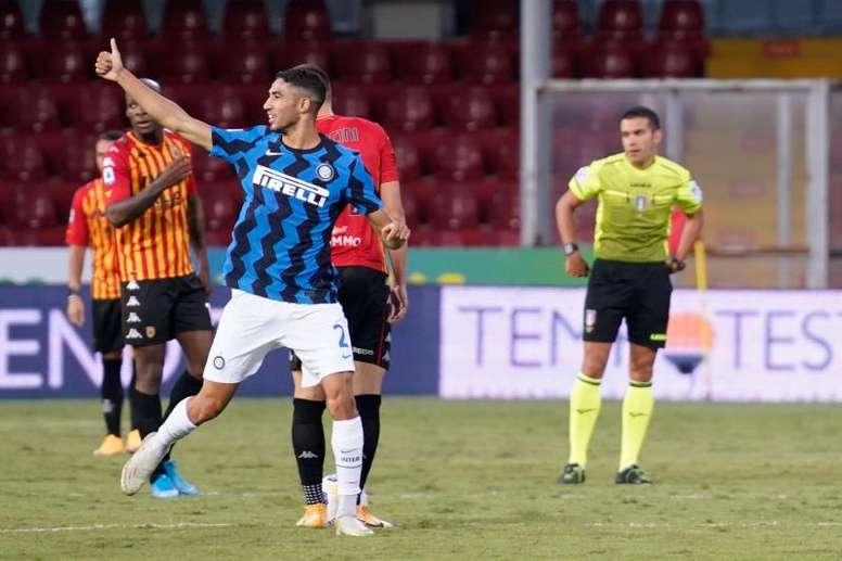 L'Inter vince in casa del Benevento. EFE