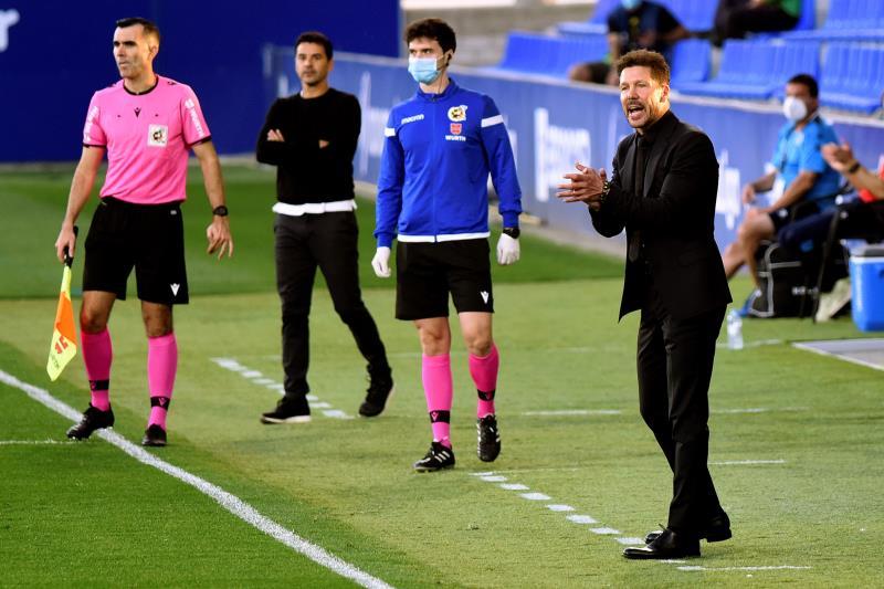 El Atlético de Madrid empató ante la SD Huesca