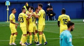 El Villarreal sonríe en el partido de los errores. EFE