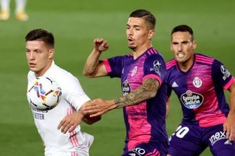 Luka Jovic ha jugado un total de 34 partidos con la elástica del Real Madrid. EFE